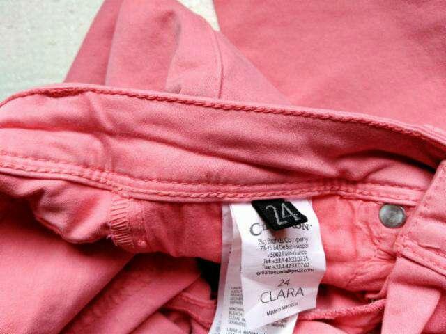 Imagen producto Vaquero skinny rosa T.24 3