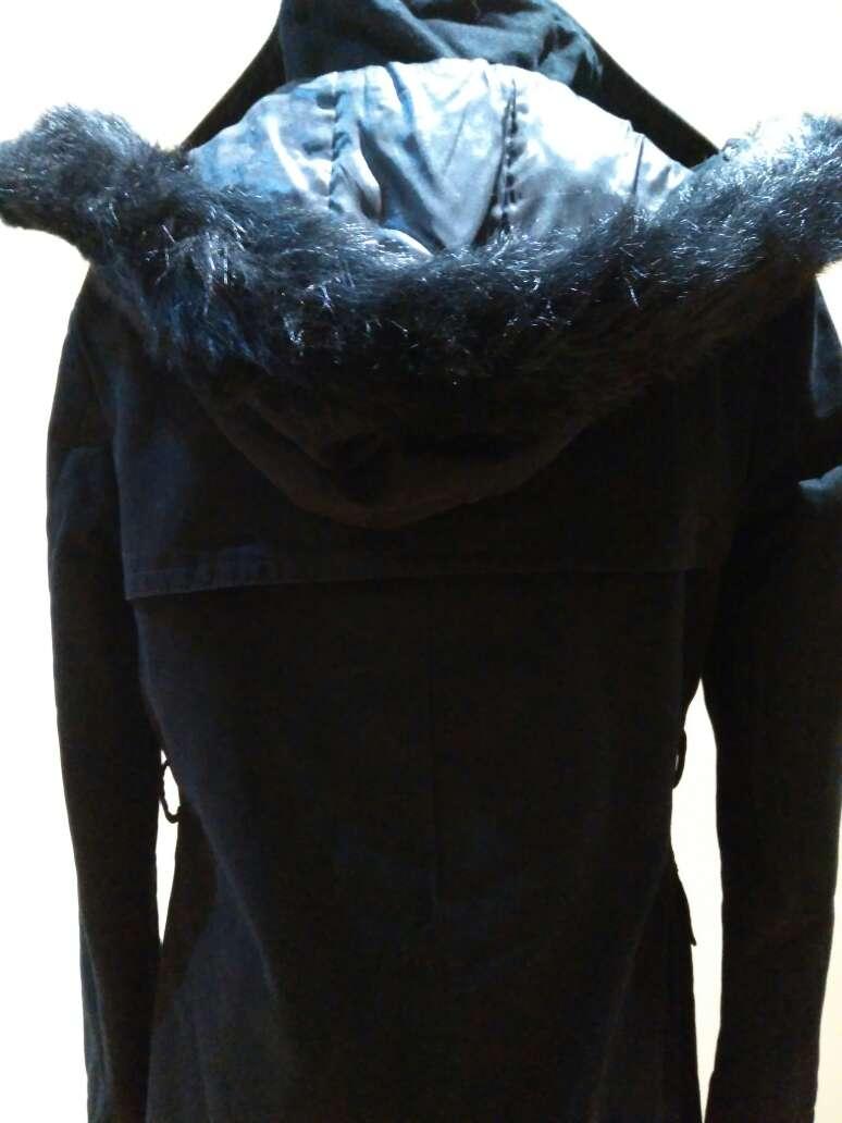 Imagen producto Parka negra de Massimo Dutti T.XS 2