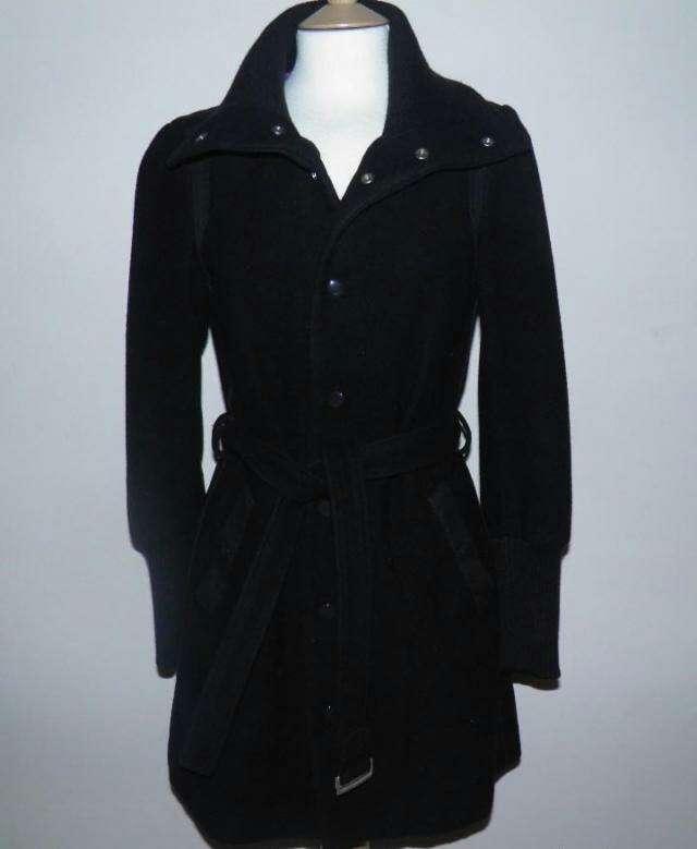 Imagen Abrigo lana negro de Diesel T.XS