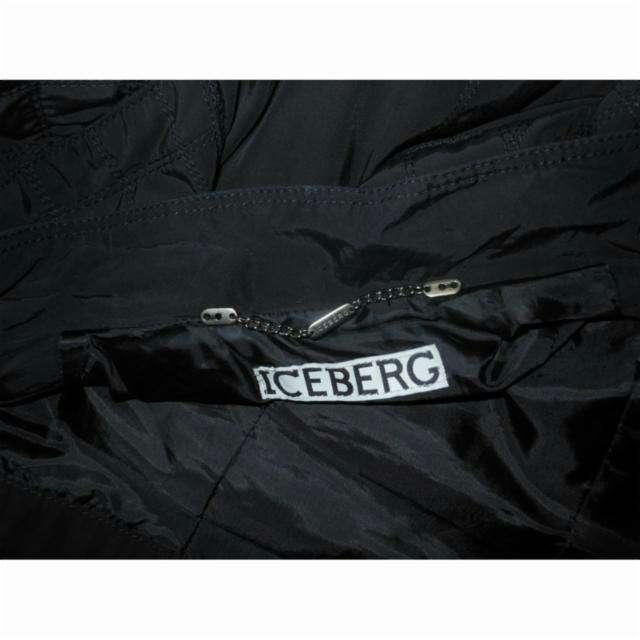Imagen producto Cazadora biker negra de Iceberg T34 4