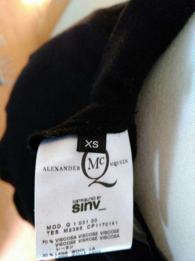 Imagen producto Falda negra de Alexander McQueen TXS 3
