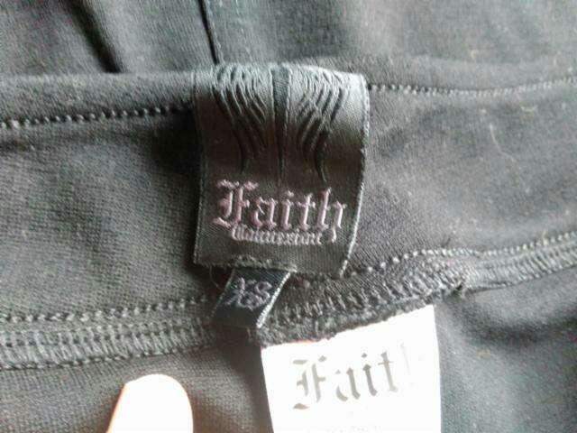 Imagen producto Falda elástica con piel de Faith Conexion  T.XS 3
