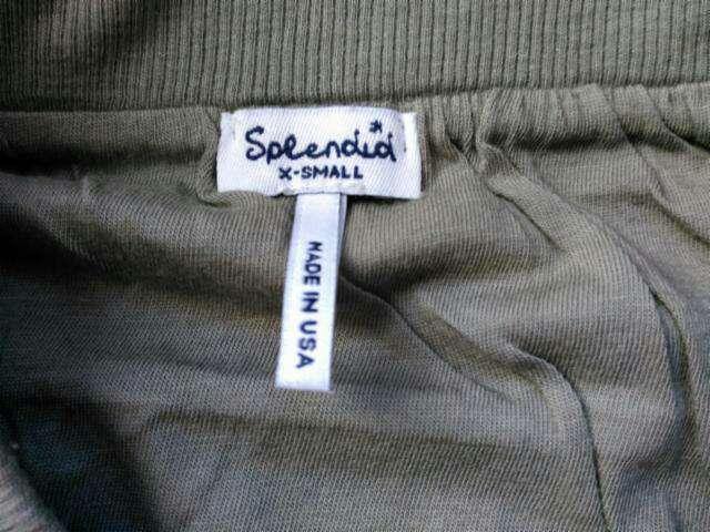 Imagen producto Minifalda verde de Splendid T.XS 2
