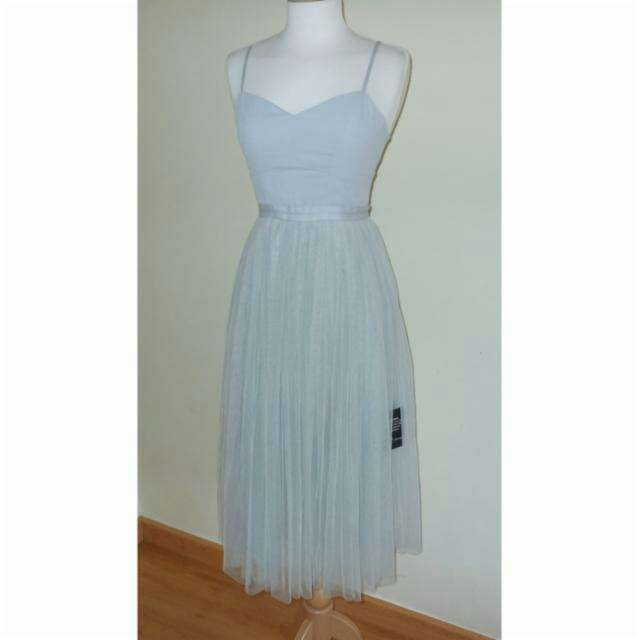 Imagen Vestido tul azul de Needle&Thread T.34