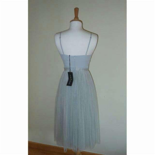 Imagen producto Vestido tul azul de Needle&Thread T.34 2