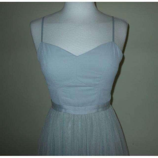 Imagen producto Vestido tul azul de Needle&Thread T.34 4