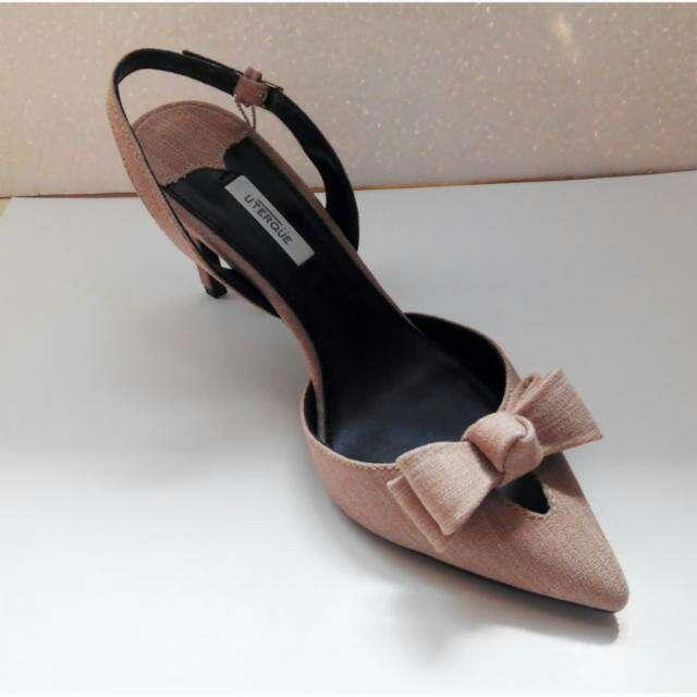Imagen producto Zapatos rafia Uterque T.38 2