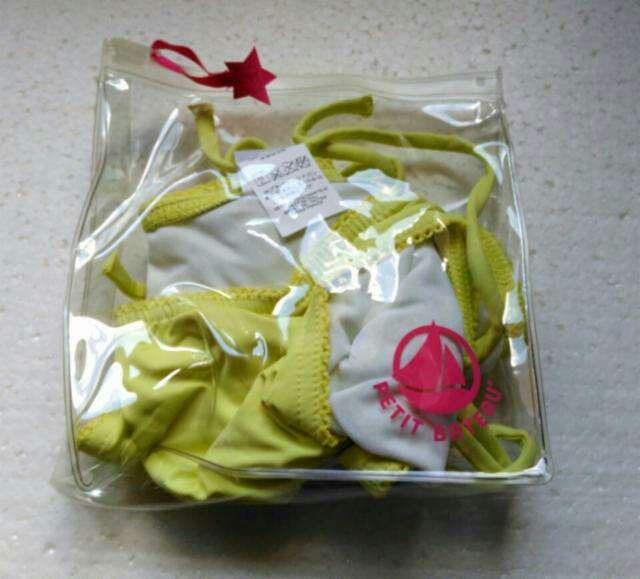 Imagen producto Bikini amarillo Petit Bateau T. 14 años ( XS) 3