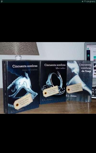 Imagen Coleccion libros 50 sombras de grey