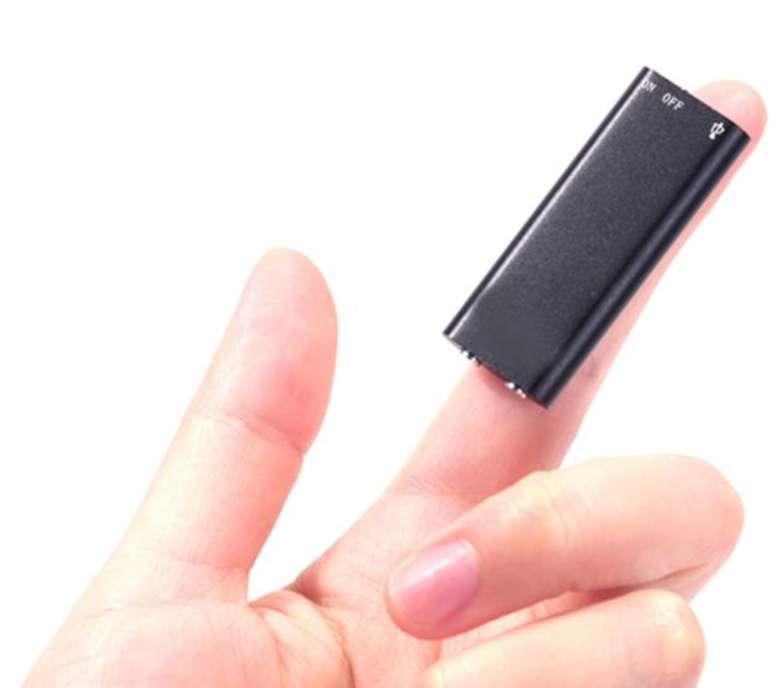 Imagen producto Mini grabadora 8gb profesional dictafono mp3. 5