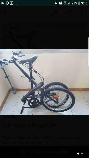 Imagen producto Bicicleta plegable 2
