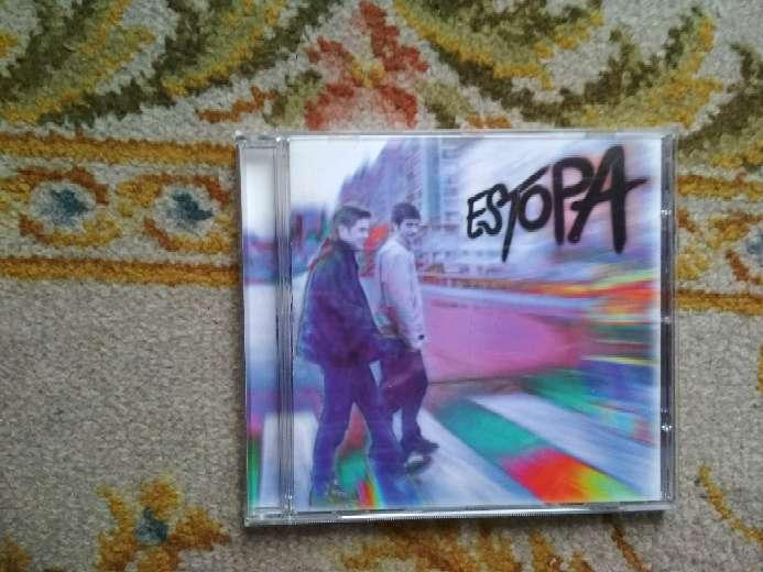 Imagen CD de música de Estopa
