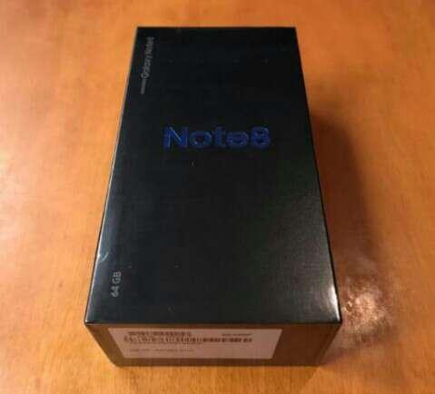 Imagen Samsung note 8 está precintado y es libre