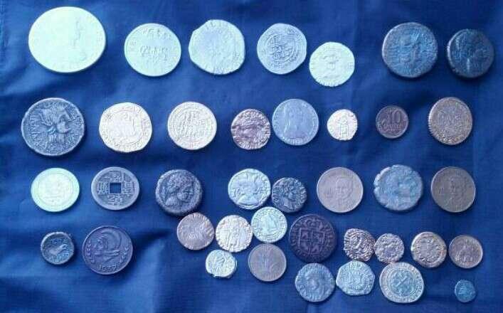 Imagen monedas antiguas....