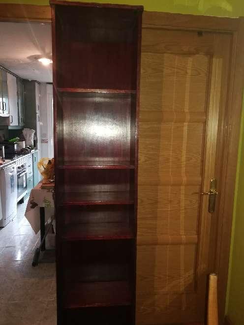 Imagen producto Vendo librería de color marrón 2 metros de alto 25 de fondo 45 de ancho  3