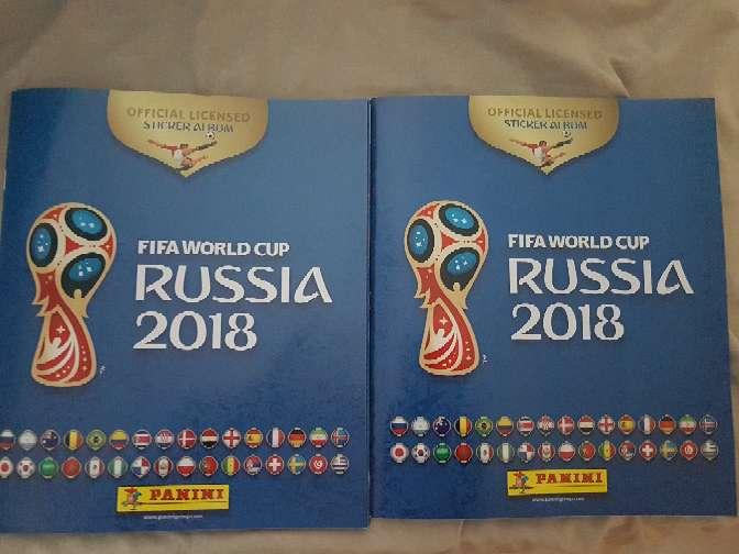 2 albunes nuevos del mundial rusia 2018 en villaverde alto madrid