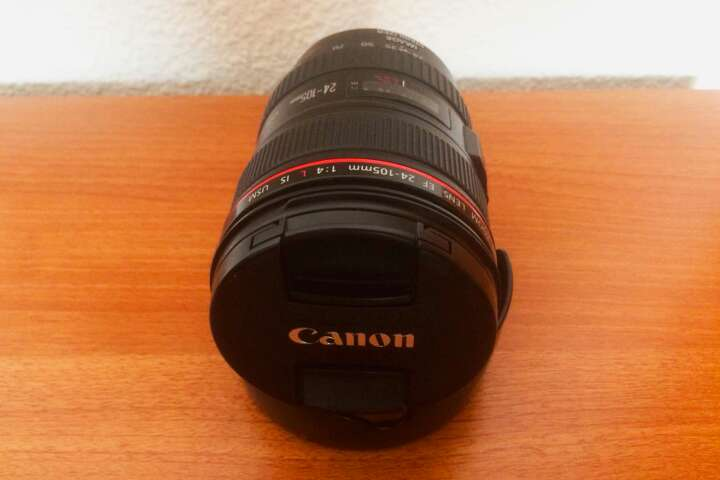 Imagen producto Objetivo Canon 24-105 mm f/4 L IS USM 2