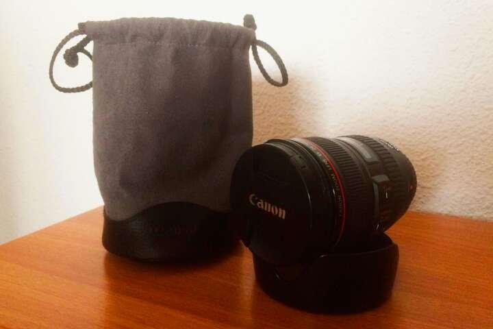 Imagen Objetivo Canon 24-105 mm f/4 L IS USM