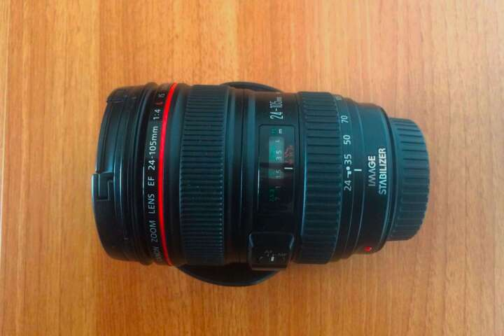 Imagen producto Objetivo Canon 24-105 mm f/4 L IS USM 3