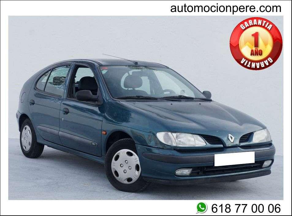 Imagen Renault Megane 1.6i Alize. Económico y Solo 53.639 Kms.