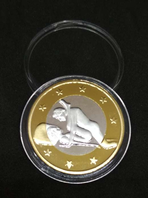 Imagen Moneda de 6 euros con imágen curiosa