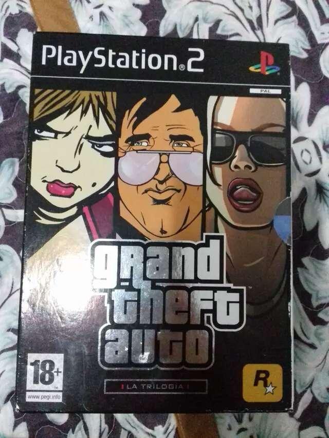 Imagen Trilogia GTA PS2