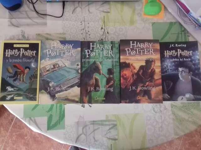 Imagen Libros de Harry Potter