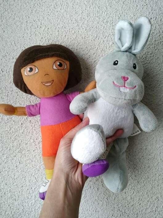 Imagen 2 Peluches Dora y Conejito