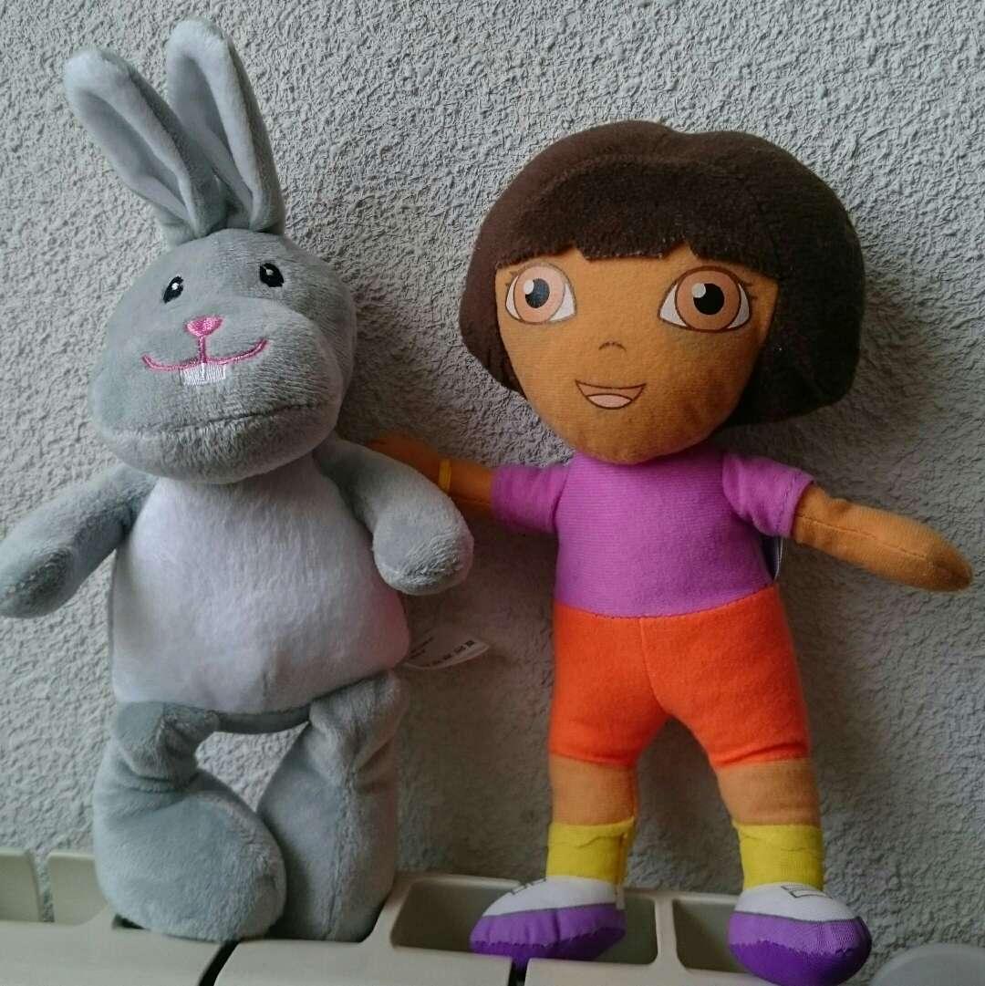 Imagen producto 2 Peluches Dora y Conejito  4