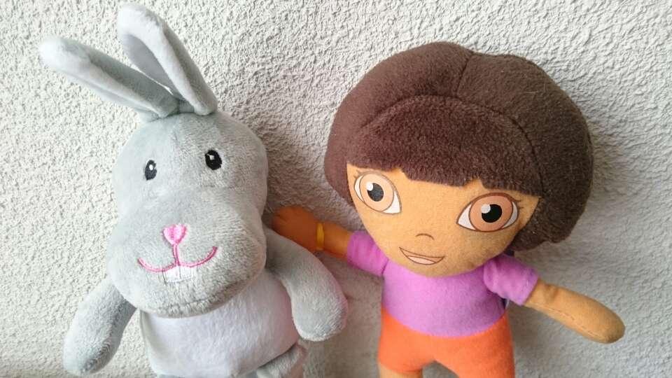 Imagen producto 2 Peluches Dora y Conejito  2