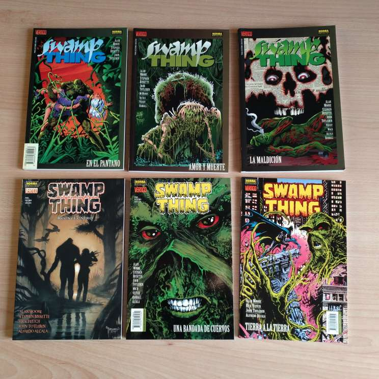 Imagen producto Swamp thing - La cosa del pantano 1