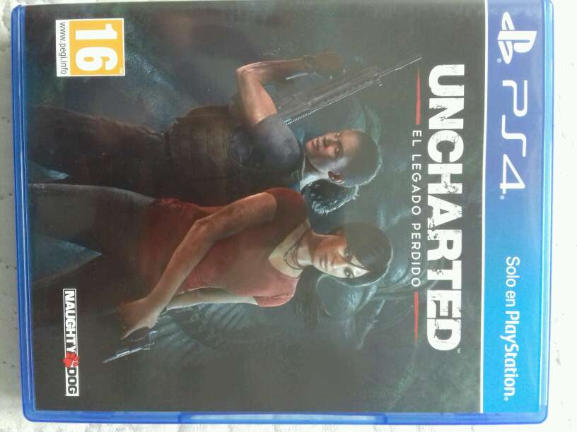 Imagen producto Uncharted:El legado perdido 1