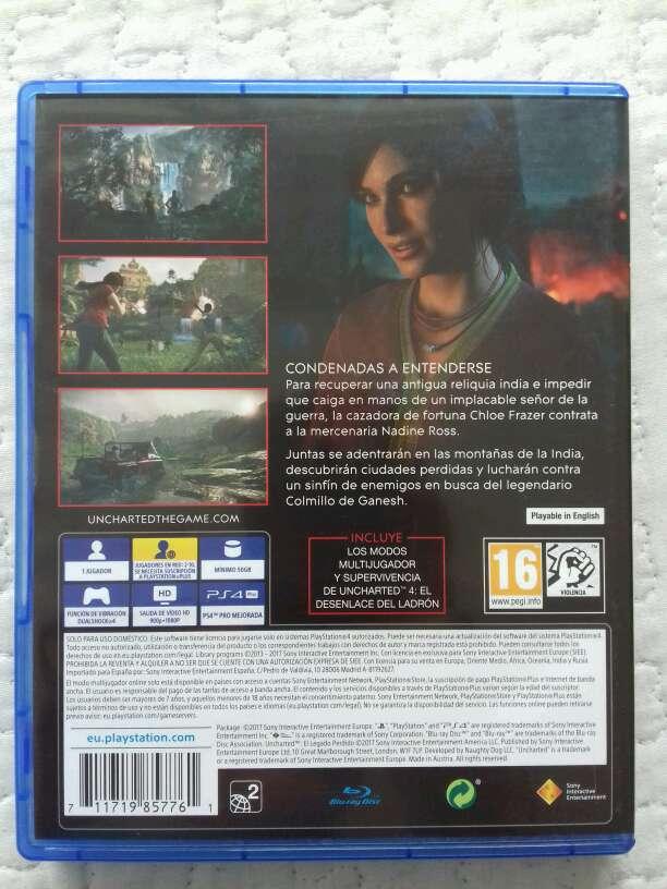 Imagen producto Uncharted:El legado perdido 3