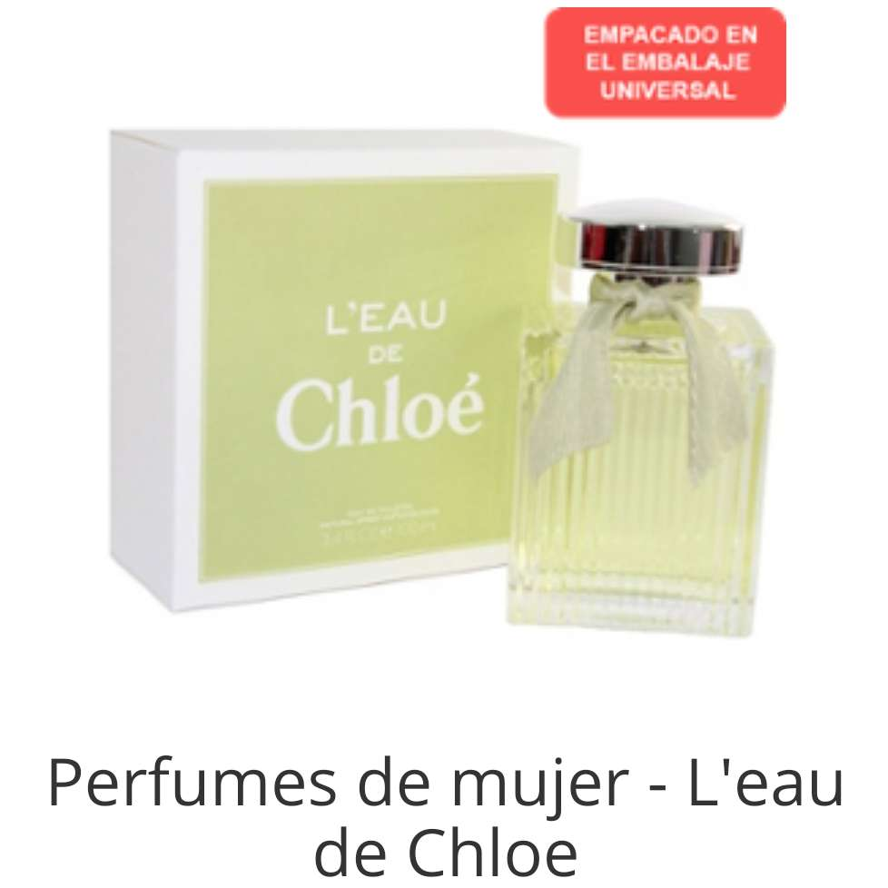 Imagen Chloe es tu perfume?