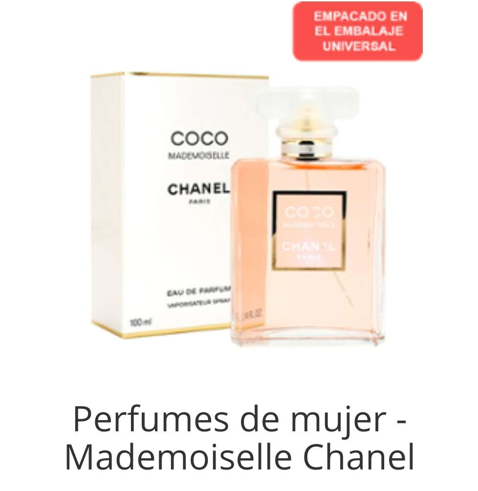 Imagen producto Coco chanel es tu perfume? 1