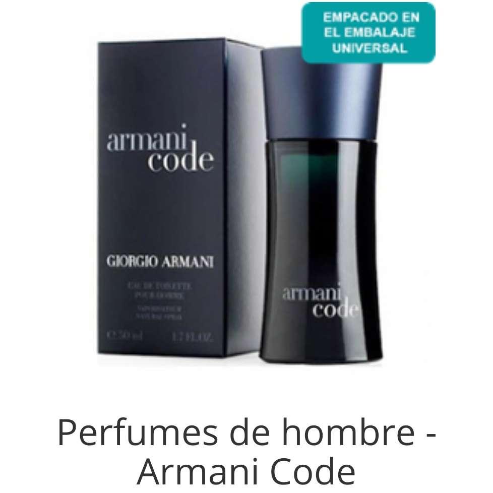 Imagen Armani code de hombre