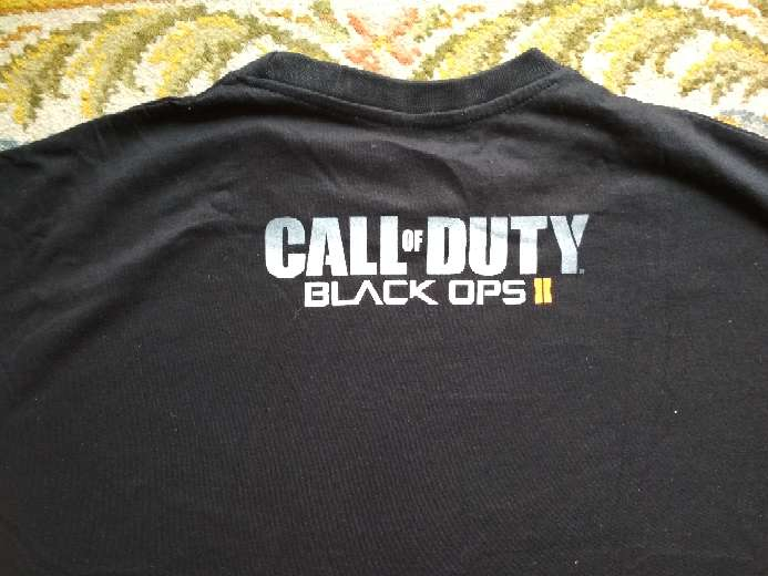 Imagen producto Camiseta oficial call of duty black ops ll 2