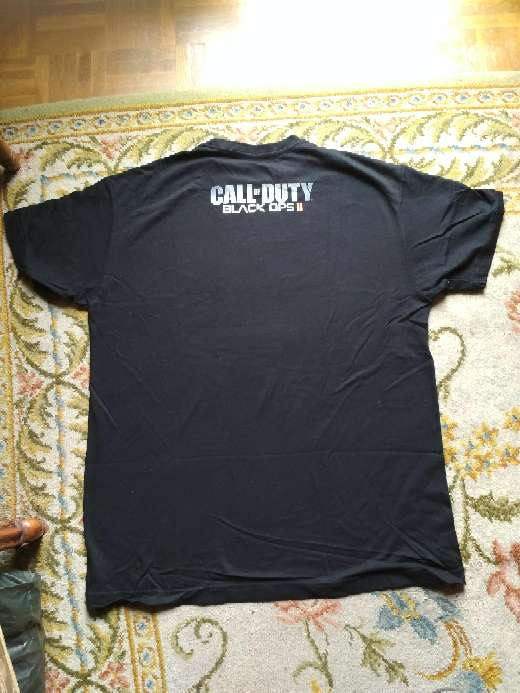 Imagen producto Camiseta oficial call of duty black ops ll 3