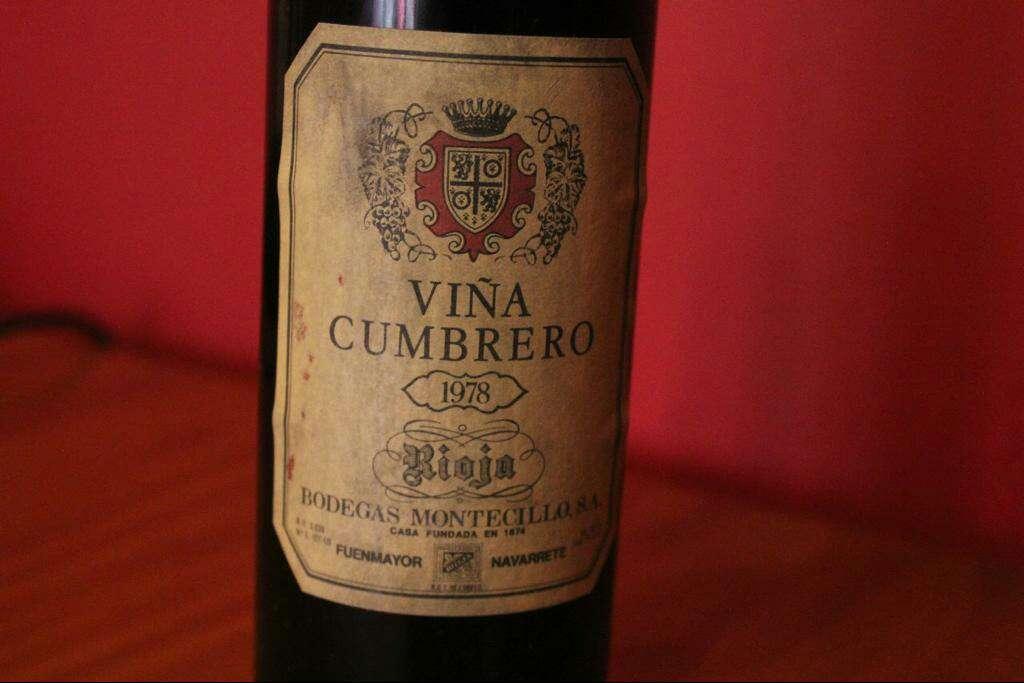 Imagen producto Viña Cumbrero 1978 Montecillo (Rioja) 3