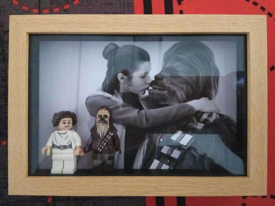 Imagen Cuadro vitrina lego Star Wars