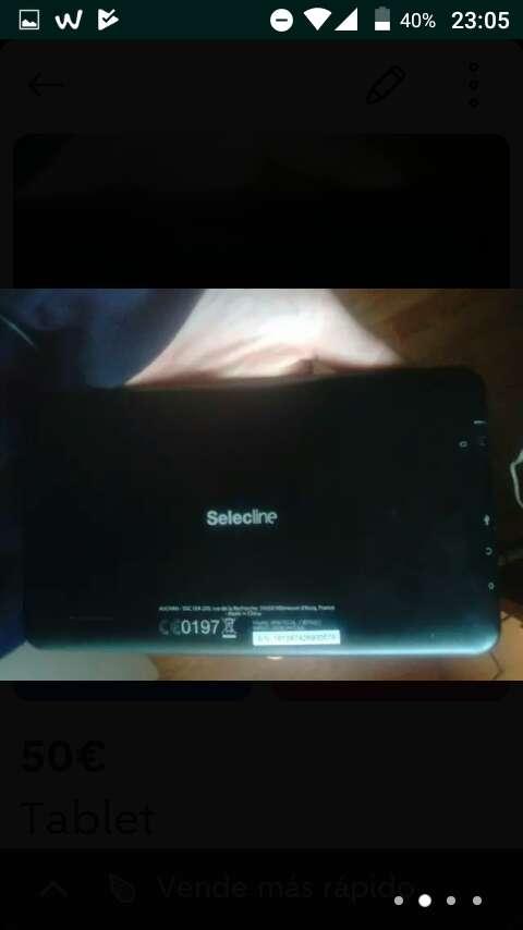 Imagen tablet selectline