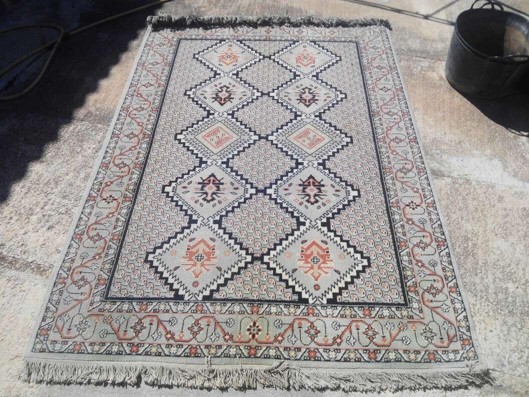 Imagen alfombra 100% pura lana virgen Boyer al estilo persa