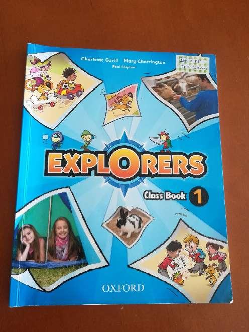 Imagen producto Explorer Class Book 1 Oxford  1