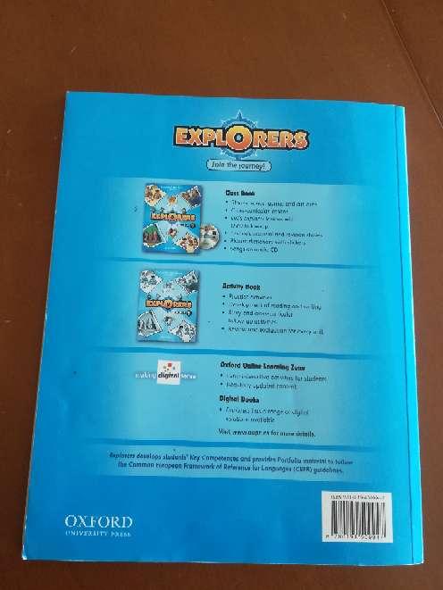 Imagen producto Explorer Class Book 1 Oxford  2
