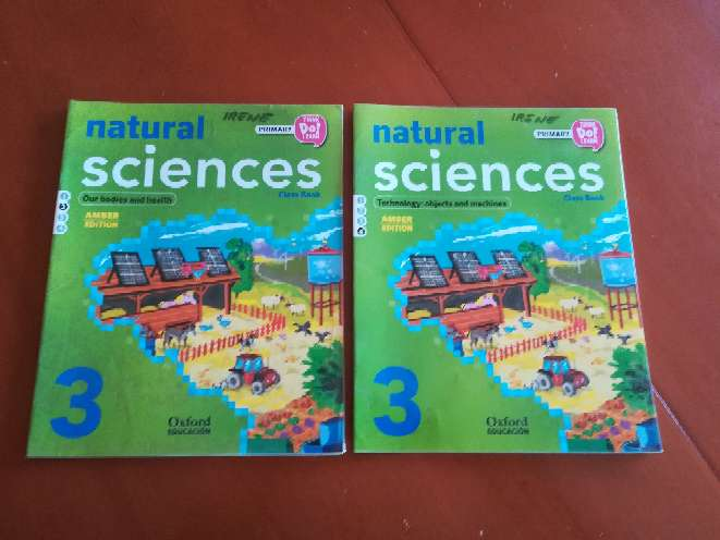 Imagen Natural Sciences Class Book 3° primaria