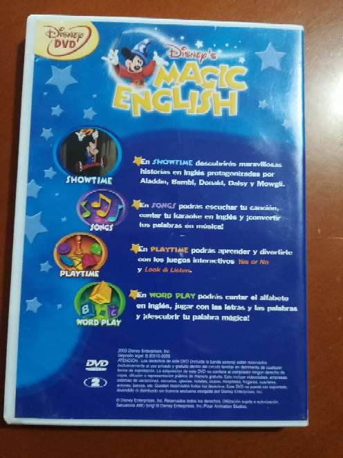 Imagen producto Magic English descubre inglés con Disney  2