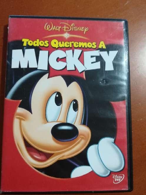 Imagen DVD Todos queremos a Mickey