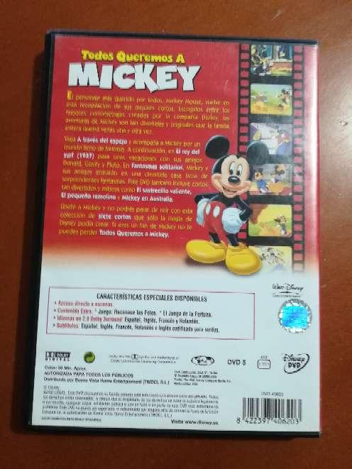 Imagen producto DVD Todos queremos a Mickey  2