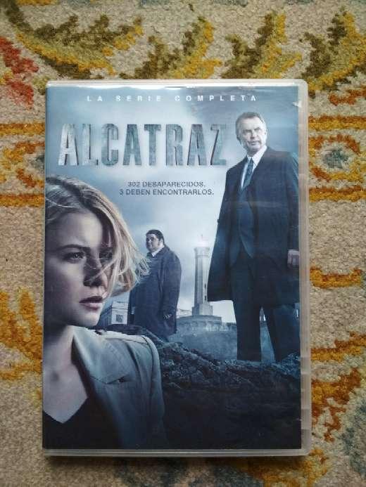 Imagen Alcatraz la serie completa en 3 DVDs