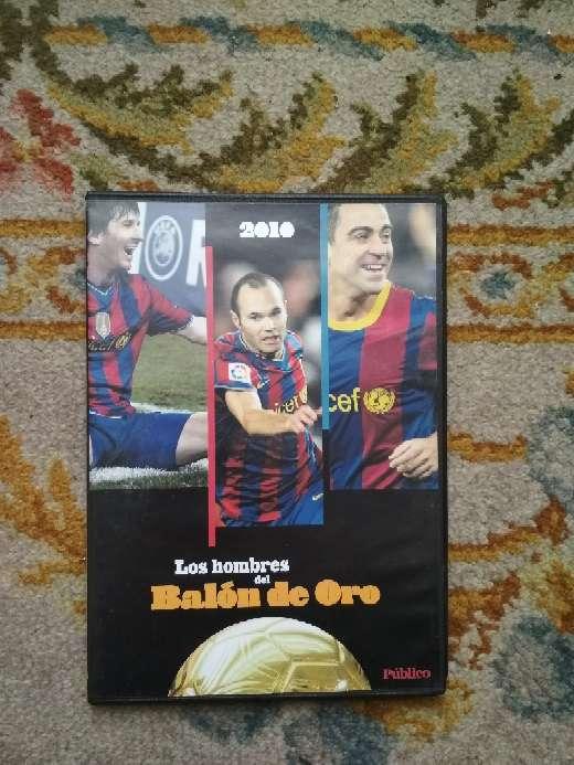 Imagen DVD FC Barcelona los hombres del Balón de Oro 2010